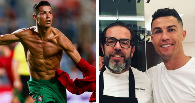 'There are no expensive foods': Cristiano Ronaldo's former chef reveals his daily diet