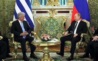 Vladimir Putin, Tabare Vazquez, Kremlin.