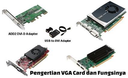 pengertian vga card dan fungsinya