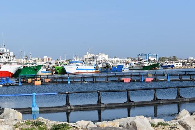 المهدية : انطلاق أشغال توسعة وتهيئة وحماية ميناء الصيد البحري بكلفة جملية فاقت 43 مليون دينار