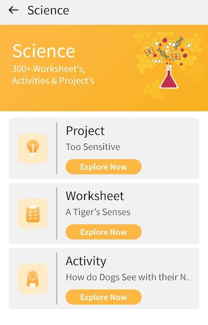 SkiPin App worksheets