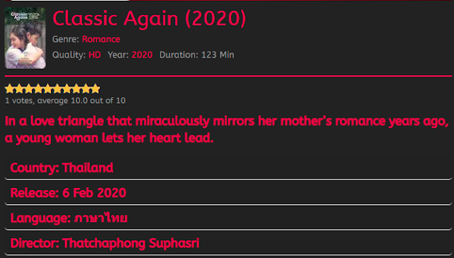 Nonton Film Classic Again (2020) Sub Indo Full Movie Terbaru 2021