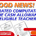 Guidelines on the Grant of Cash Allowance to Teachers