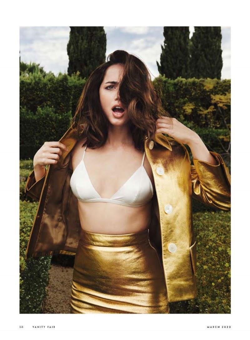 Ana de Armas Featured in Vanity Fair Magazine- UK March 2020