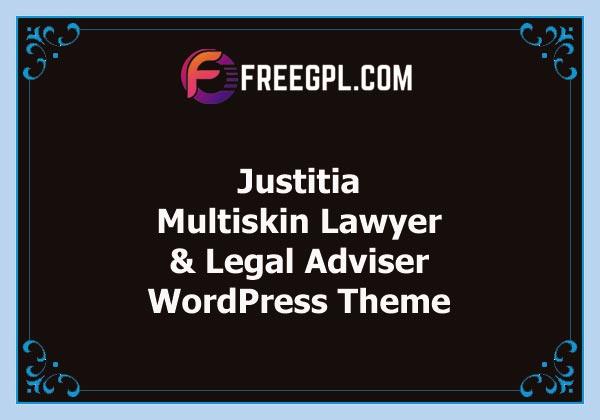 Justitia v1.0.5 | Multiskin Lawyer & Legal Adviser WordPress Theme Free Download