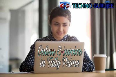 Online-E-Invoice-in-Tally-Prime