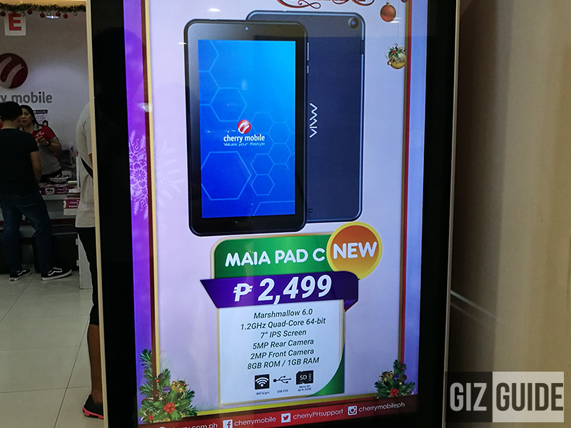 Cherry Mobile MAIA Pad C Announced