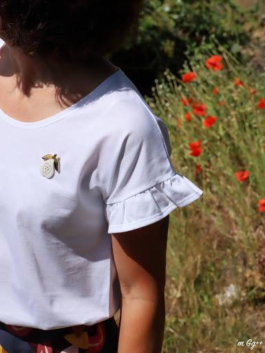 """Une Jupe """"Jess"""" et Un """"Trop-top""""... (Jupe : """"Jess"""" de chez Fiat de Lux ; T-shirt : """"Trop-Top Femme"""" de chez Ivanne S) par m Gg++"""