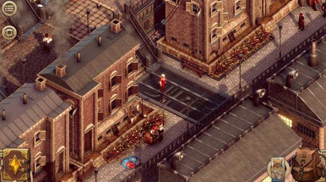 Pendula Swing The Complete Journey — the action is shown in isometric view. We travel through seven districts of the city and get acquainted with their inhabitants