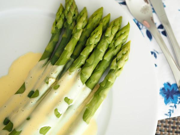 Upeaa kotimaista parsaa ja maailman helpoin pikahollandaise