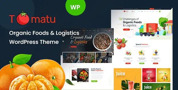 Best Organic Food WordPress Theme