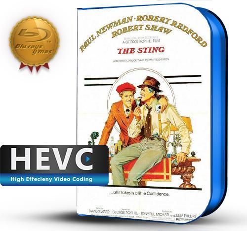 The Sting (1973) 1080P HEVC-8Bits BDRip Latino/Ingles(Subt.Esp)(Comedia, Intriga)