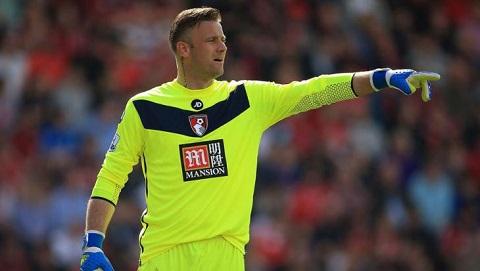 Thủ môn Artur Boruc đã chơi rất xuất sắc ở CLB Bournemouth