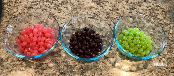 jelly bean taste test experiment 2