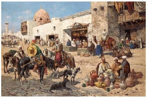 Sejarah penggunaan dinar dan dirham dipasar arab