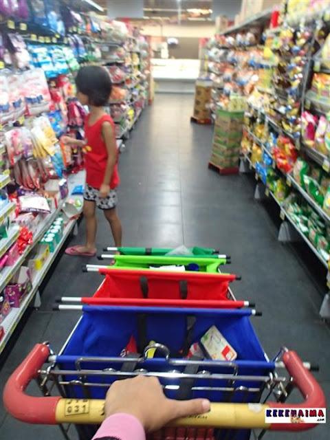 tas belanja, trolley bag, praktis print
