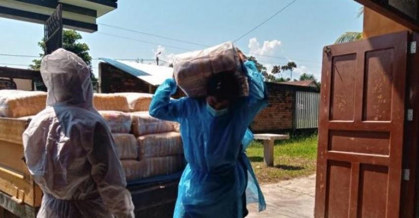 QALI WARMA: Programa social entrega más de 74 toneladas de alimentos a ciudadanos indígenas de Loreto de 37 comunidades ubicadas en Manseriche - www.qaliwarma.gob.pe