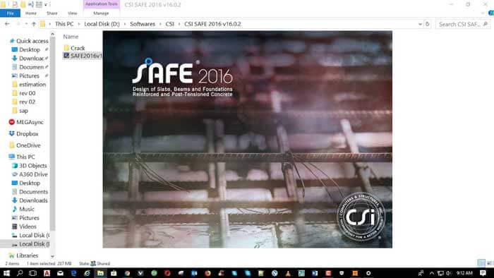 تحميل برنامج CSI Safe 2016 16.0.2 برابط مباشر للتصميم و التحليل الانشائي