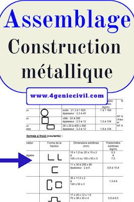 les assemblages - cours construction métallique