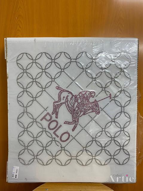 Hotfix stickers dmc rhinestone aplikasi tudung bawal fabrik pakaian pemain polo maroon