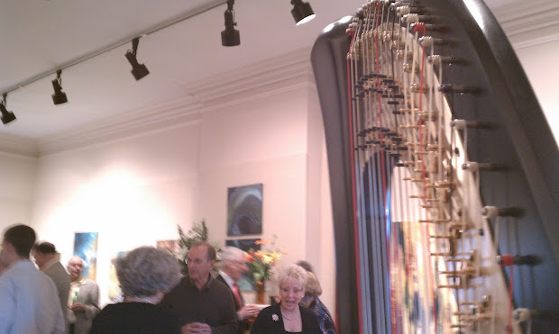 Central Illinois Harpist Strawn Art Party