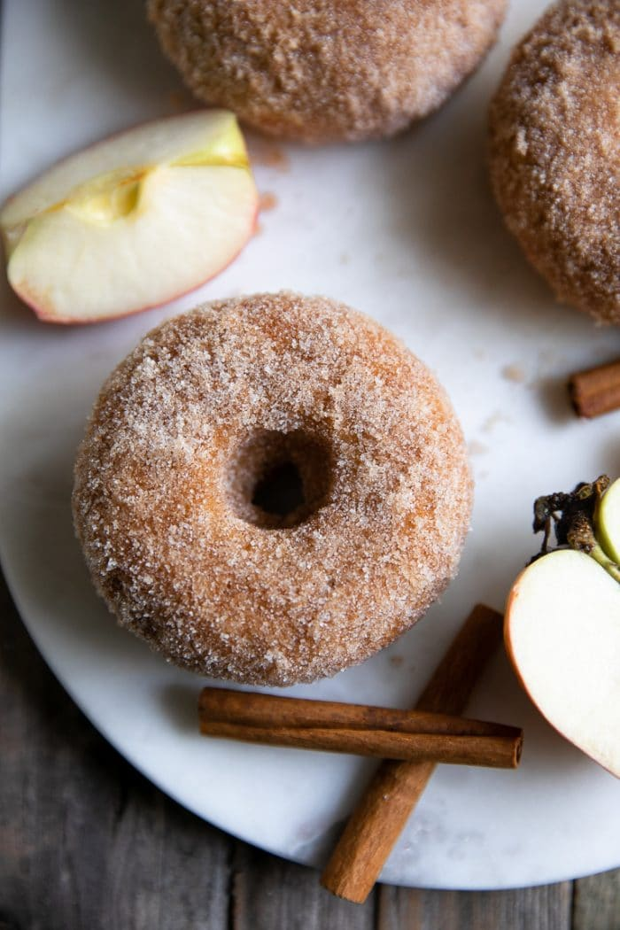 BAKED APPLE DONUTS #apple #donuts #desserts #cakes #pumpkin
