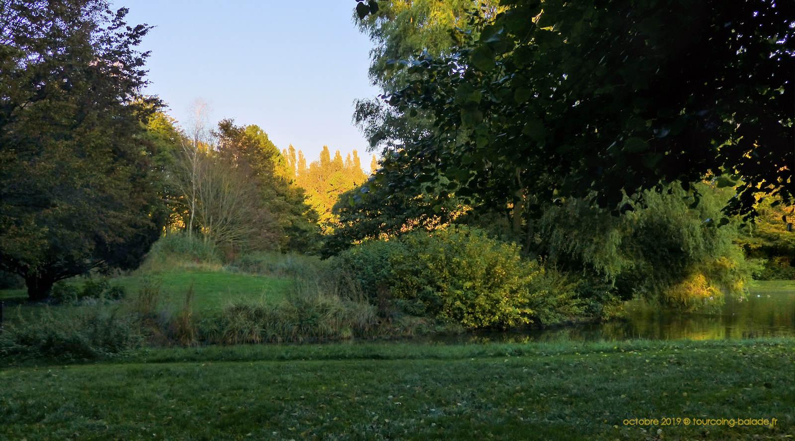 Parc de l'Yser, Tourcoing.