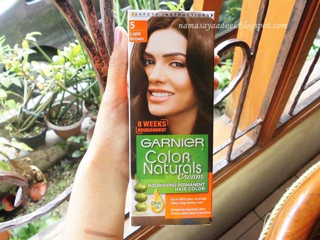 Beauty Review Garnier Color Naturals Cream Light Brown Adhel S
