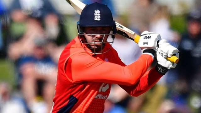 James Vince made his first T20 half-century in England's victory over New Zealand