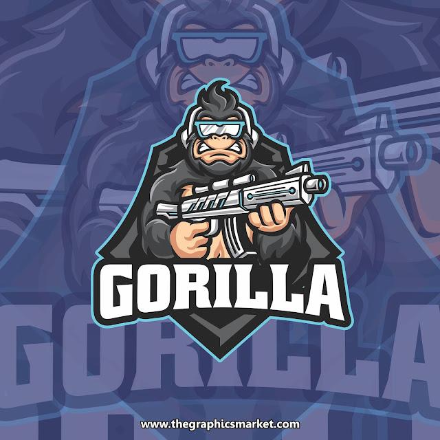 gorilla gaming logo free download
