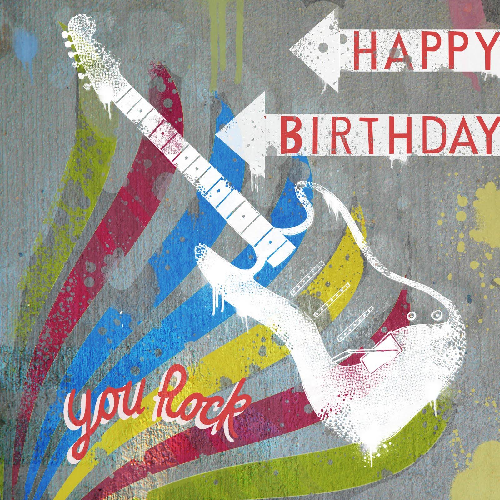 JeanClaude: Happy Birthday Guitar