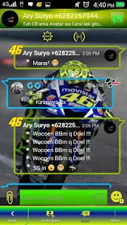 BBM MOD Valentino Rossi APK