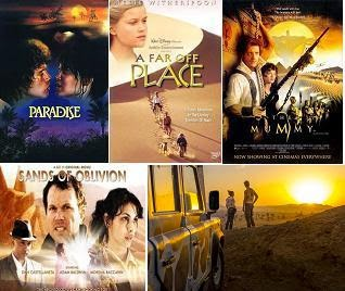 Sivatagi kalandfilmek