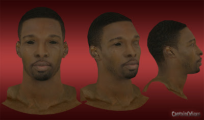 NBA 2K13 Jeff Green Cyberface Mod