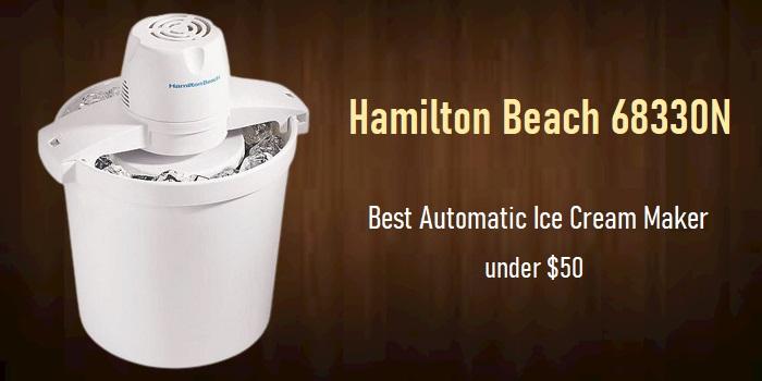 Hamilton Beach 68330N - Automatic Ice Cream Maker