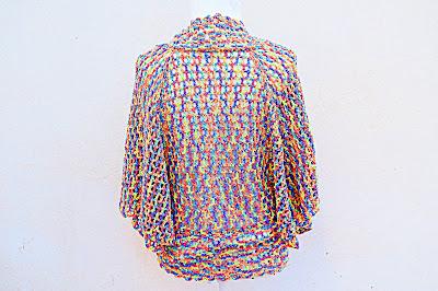1 - Crochet IMAGEN Linda chaqueta mariposa a crochet y ganchillo fácil y rápida. MAJOVEL CROCHET