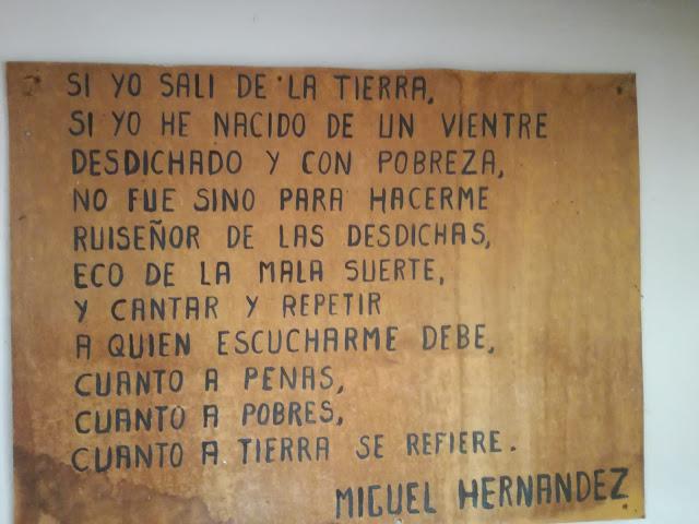 Miguel Hernández, Carlos Antón Torregrosa, Enseñanza UGT Ceuta