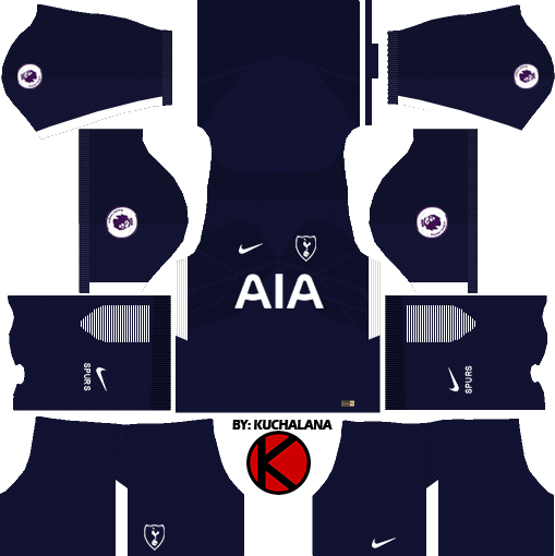 Tottenham Hotspur Kits 2017 2018 Dream League Soccer Kuchalana