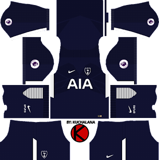 Tottenham Hotspur Kits 2017/2018 - Dream League Soccer