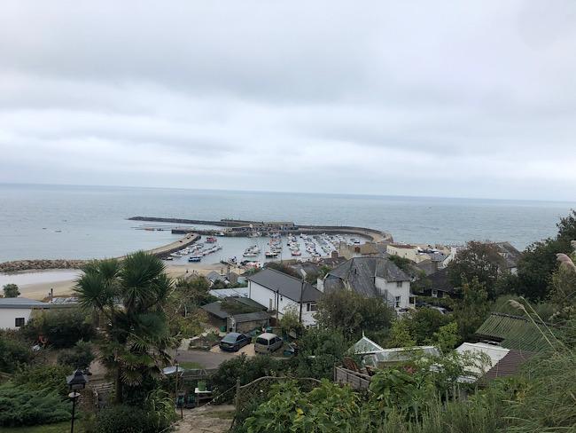 Lyme Regis September 2020