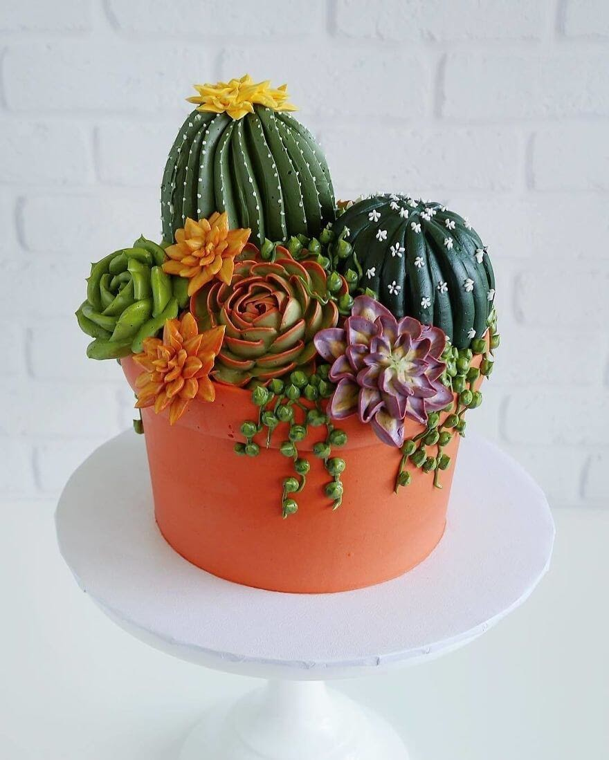03-Cacti-Succulent-Plants-Leslie-Vigil-Themed-Decorated-Cakes-www-designstack-co