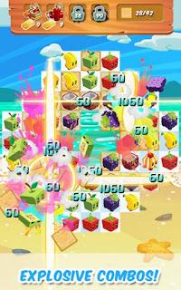 Juice Cubes Apk v1.39.02 Mod (Unlimited Gold)