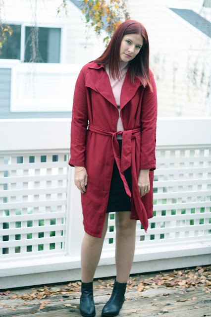 Jacket, make me chic, burgundy, ootd, winter outfit, blogger
