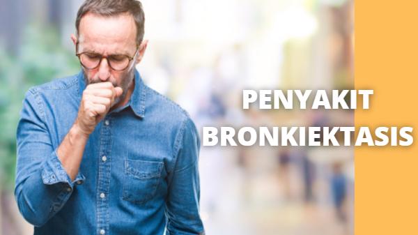 """Apa Itu Penyakit Bronkiektasis : Definisi, Etiologi, Faktor Risiko, Manifestasi Klinis Definisi Penyakit Bronkiektasis Bronkiektasi adalah suatu perusakan dan pelebaran (dilatasi) abnormal dari saluran napas yang besar. Proses ini tejadi akibat infeksi kronis saluran napas dan peradangan.  Etiologi Penyakit Bronkiektasis Etiologi yang ditemukan pada penyakit Bronkiektasis adalah sebagai berikut : Infeksi pernapasan Penyumbatan bronkus Kelainan imunologik Cedera penghirupan Infeksi pernapasan Penyakit paru lebih 10 tahun  Faktor Risiko Penyakit Bronkiektasis Faktor risiko yang ditemukan pada penyakit Bronkiektasi adalah sebagai berikut : Infeksi Infeksi meliputi campak, pertusis, infeksi adenovirus, infeksi bakteri Faktor Predisposisi Penyakit paru primer tumor paru, benda asing kongenital Kelainan kongenital  Manifestasi Klinis Penyakit Bronkiektasis Manifestasi klinis yang ditemukan pada penyakit Bronkiektasi adalah sebagai berikut : Batuk menahun dengan banyak dahak yang berbau busuk Sesak napas Mengi Pucat Lelah Batuk berdarah   Nah itu dia bahasan dari apa itu penyakit bronkiektasis pada tubuh manusia. Melalui bahasan diatas bisa diketahui mengenai definisi, etiologi, faktor risiko, dan manifestasi klinis dari penyakit bronkiektasis pada tubuh manusia. Mungkin hanya itu yang bisa disampaikan di dalam artikel ini, mohon maaf bila terjadi kesalahan di dalam penulisan, dan terimakasih telah membaca artikel ini.""""God Bless and Protect Us"""""""