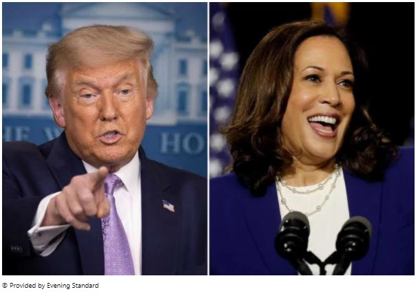 'Birther': Donald Trump says he has heard rumors of Kamala Harris not meeting