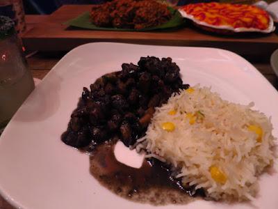 Piedra Negra, octopus ink stew rice