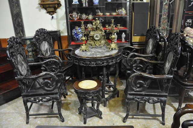 bàn ghế gỗ trắc trúc