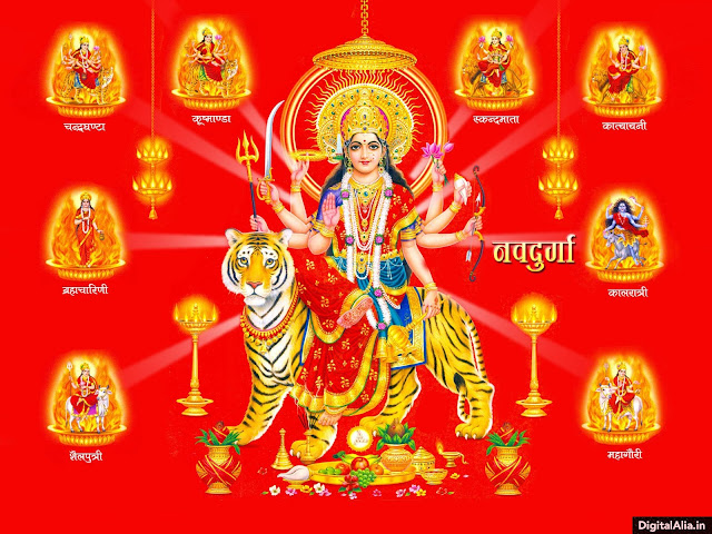 maa durga wallpaper