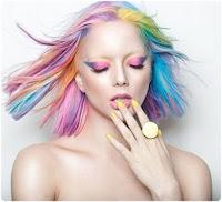 Bunt gefärbte Haare 2018