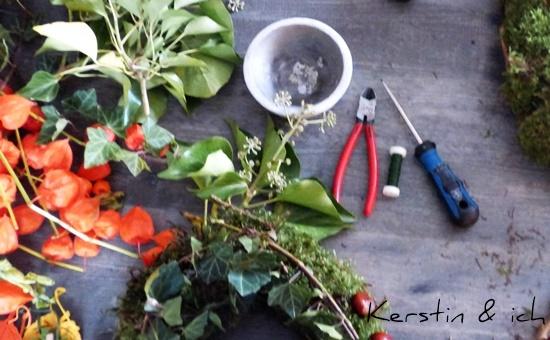 Kerstin & ich: Selbermachen | Herbstdeko von unserer Kolumnistin Viki